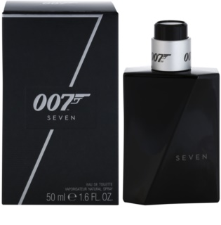 James Bond 007 Seven eau de toilette para hombre 50 ml