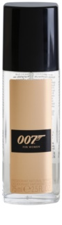James Bond 007 James Bond 007 for Women desodorizante vaporizador para mulheres 75 ml