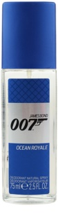James Bond 007 Ocean Royale Deo met verstuiver voor Mannen 75 ml