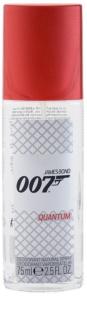 James Bond 007 Quantum deodorant s rozprašovačom pre mužov 75 ml