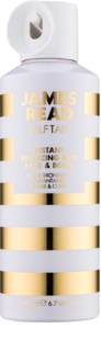James Read Self Tan spray bronzeador com efeito instantâneo