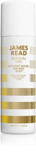 James Read Gradual Tan Coconut Water espuma bronzeadora para corpo