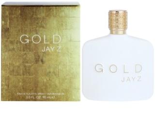 Jay Z Gold Eau de Toilette para homens 90 ml