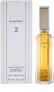 Jean-Louis Scherrer  Scherrer 2 eau de toilette pentru femei 25 ml