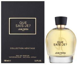 Jean Patou Que Sais-Je toaletna voda za ženske 100 ml