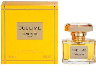 Jean Patou Sublime eau de parfum pour femme 30 ml