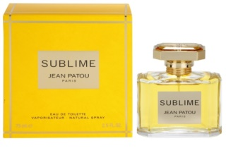 Jean Patou Sublime Eau de Toilette für Damen 75 ml