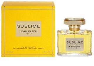 Jean Patou Sublime Eau de Toilette voor Vrouwen  75 ml