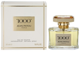 Jean Patou 1000 Eau de Toilette for Women 50 ml