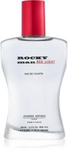 Jeanne Arthes Rocky Man Red Light eau de toilette pour homme 100 ml
