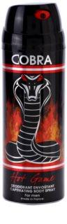 Jeanne Arthes Cobra Hot Game deospray pentru barbati 200 ml