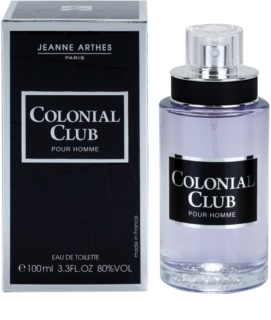 Jeanne Arthes Colonial Club Eau de Toilette para homens 100 ml