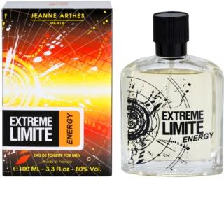 Jeanne Arthes Extreme Limite Energy Eau de Toilette pentru barbati 100 ml