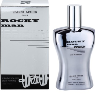 Jeanne Arthes Rocky Man Irridium Eau de Toilette para homens 100 ml