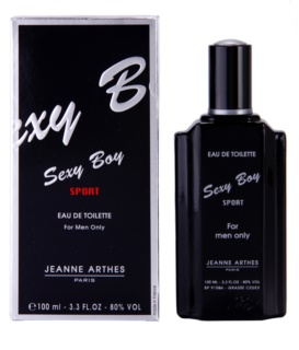 Jeanne Arthes Sexy Boy Sport Eau de Toilette for Men 100 ml
