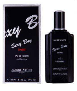 Jeanne Arthes Sexy Boy Sport Eau de Toilette para homens 100 ml