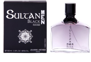 Jeanne Arthes Sultane Men Black eau de toilette uraknak 100 ml