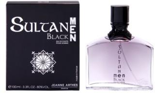 Jeanne Arthes Sultane Black Men Eau de Toilette para homens 100 ml