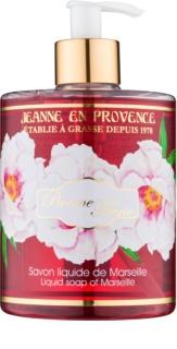 Jeanne en Provence Pivoine Féerie tekoče milo za roke potonika