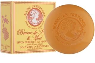 Jeanne en Provence Shea Butter & Honey Luxe Franse Zeep