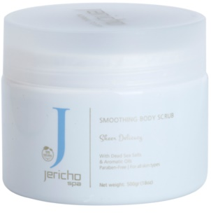 Jericho Body Care SPA Energizing Salt Scrub With Sea Extracts And Essential Oils