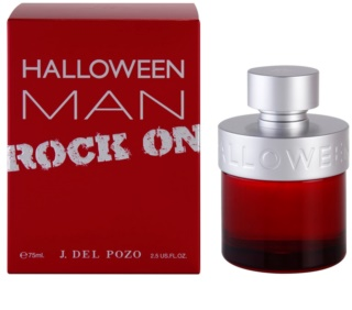 Jesus Del Pozo Halloween Man Rock On eau de toilette férfiaknak 75 ml