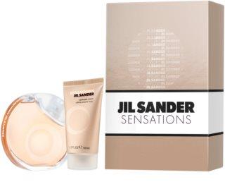 Jil Sander Sensations poklon set III. za žene