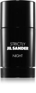 Jil Sander Strictly Night desodorante en barra para hombre 75 ml