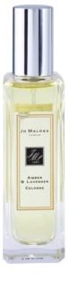 Jo Malone Amber & Lavender Eau de Cologne para homens 30 ml sem embalagem