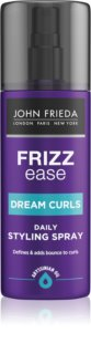 John Frieda Frizz Ease Dream Curls Wave Defining Styling Spray