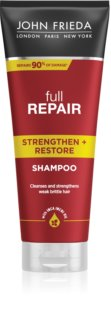 John Frieda Full Repair Strengthen+Restore Energising Shampoo with Regenerative Effect