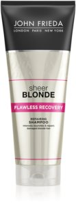 John Frieda Sheer Blonde sampon pentru regenerare pentru par blond