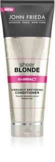 John Frieda Sheer Blonde αναγεννητικό μαλακτικό για ξανθά μαλλιά