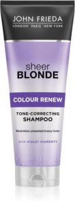 John Frieda Sheer Blonde Colour Renew șampon nuanțator pentru par blond