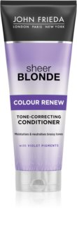 John Frieda Sheer Blonde Colour Renew soin démêlant correcteur couleur pour cheveux blonds