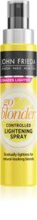 John Frieda Sheer Blonde Go Blonder mocné zesvětlující sérum pro přírodní blond odstíny