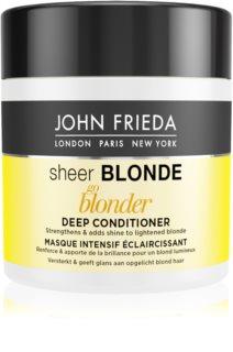 John Frieda Sheer Blonde Go Blonder acondicionador para cabello rubio