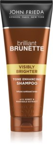 John Frieda Brilliant Brunette Visibly Brighter après-shampoing brillance