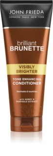 John Frieda Brilliant Brunette Visibly Brighter shampoing brillance