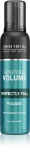John Frieda Luxurious Volume Perfectly Full Styling Mousse