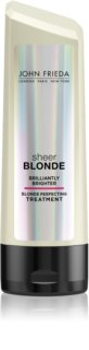 John Frieda Sheer Blonde Brilliantly Brighter bálsamo para cabelo loiro e com madeixas