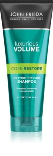 John Frieda Luxurious Volume Core Restore shampoing pour donner du volume aux cheveux fins