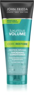 John Frieda Luxurious Volume Core Restore balzam za volumen tankih las