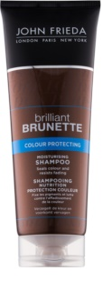 John Frieda Brilliant Brunette Colour Protecting shampoing hydratant
