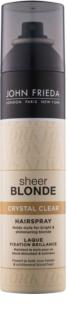 John Frieda Sheer Blonde Crystal Clear lakk a szőke és melírozott hajra