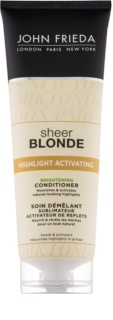 John Frieda Sheer Blonde Highlight Activating rozjasňující kondicionér pro blond vlasy