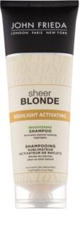 John Frieda Sheer Blonde Highlight Activating aufhellendes Shampoo für blonde Haare