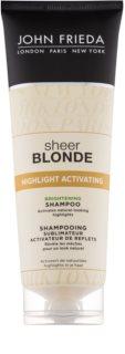 John Frieda Sheer Blonde Highlight Activating роз'яснюючий шампунь для освітленого волосся