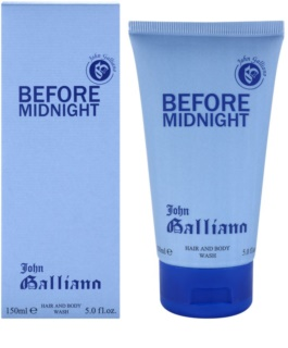 John Galliano Before Midnight gel za prhanje za moške 150 ml