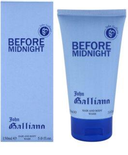 John Galliano Before Midnight żel pod prysznic dla mężczyzn 150 ml